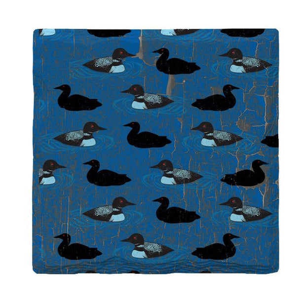Loon Pattern |Drink Coaster Set