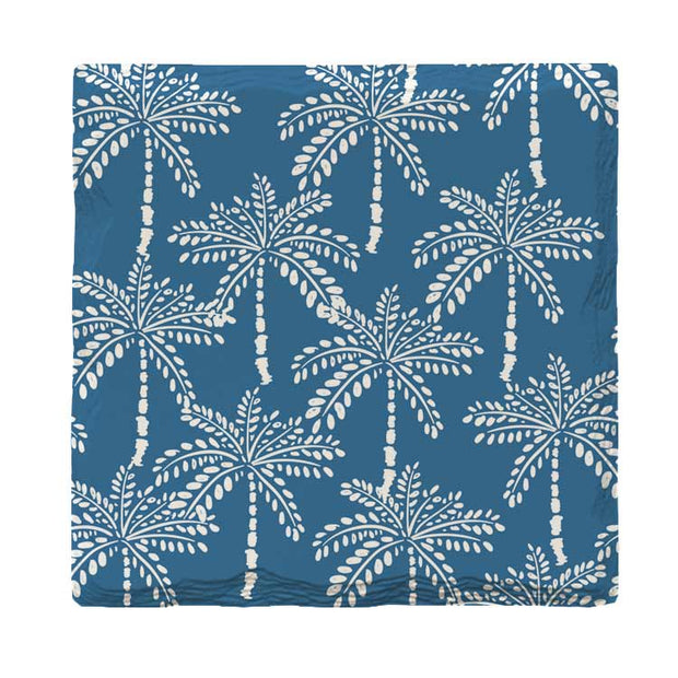Palm Tree Pattern | Drink Coaster Set