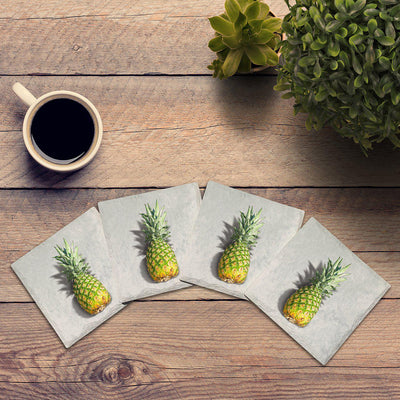 Pineapple | Drink Coaster Set