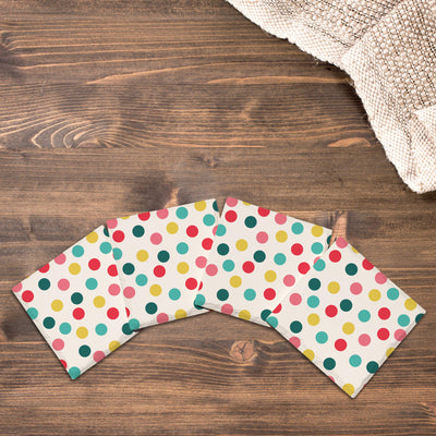 Colorful Polka Dots-Mill Wood Art