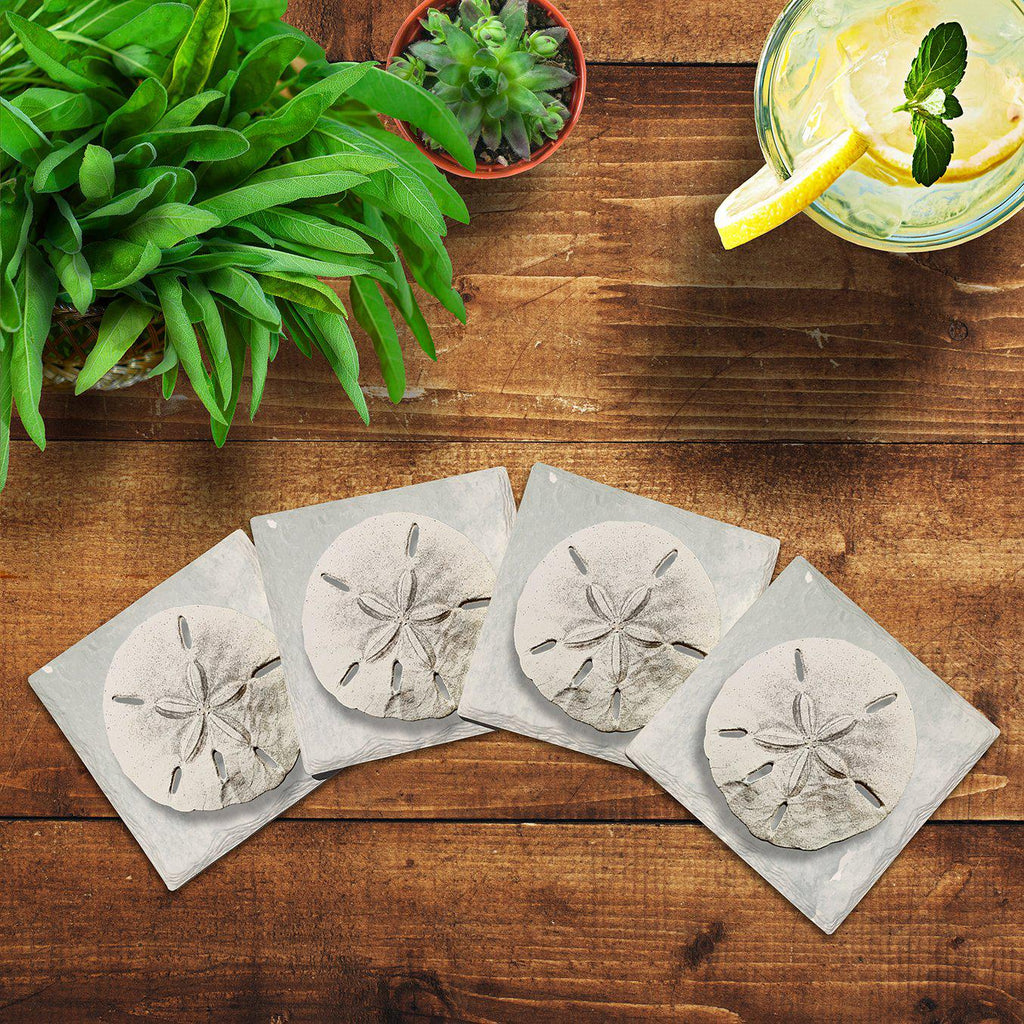 Sand Dollar | Drink Coaster Set