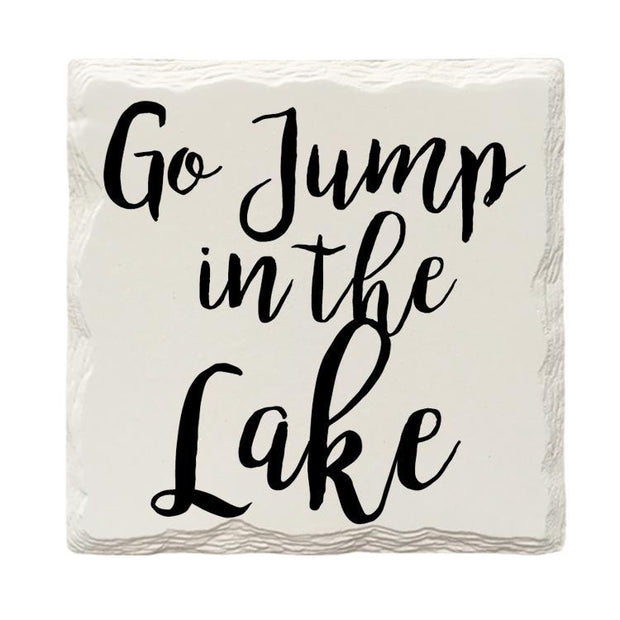 Go Jump In The Lake-Mill Wood Art