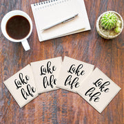Lake Life Drink Coaster Set