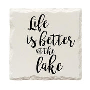 Life Is Better At The Lake Drink Coaster Set