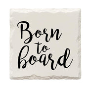 'Born To Board' Drink Coaster Set