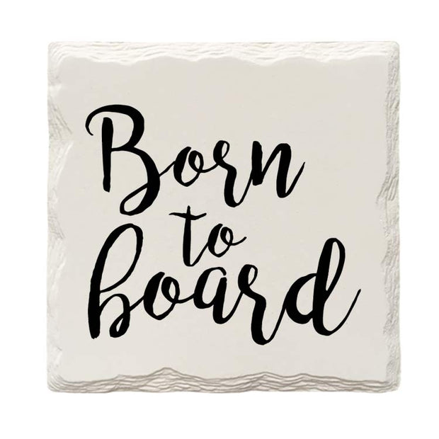 Born To Board Drink Coaster Set