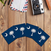 South Carolina State Flag | Drink Coaster Set