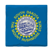 South Dakota State Flag | Drink Coaster Set