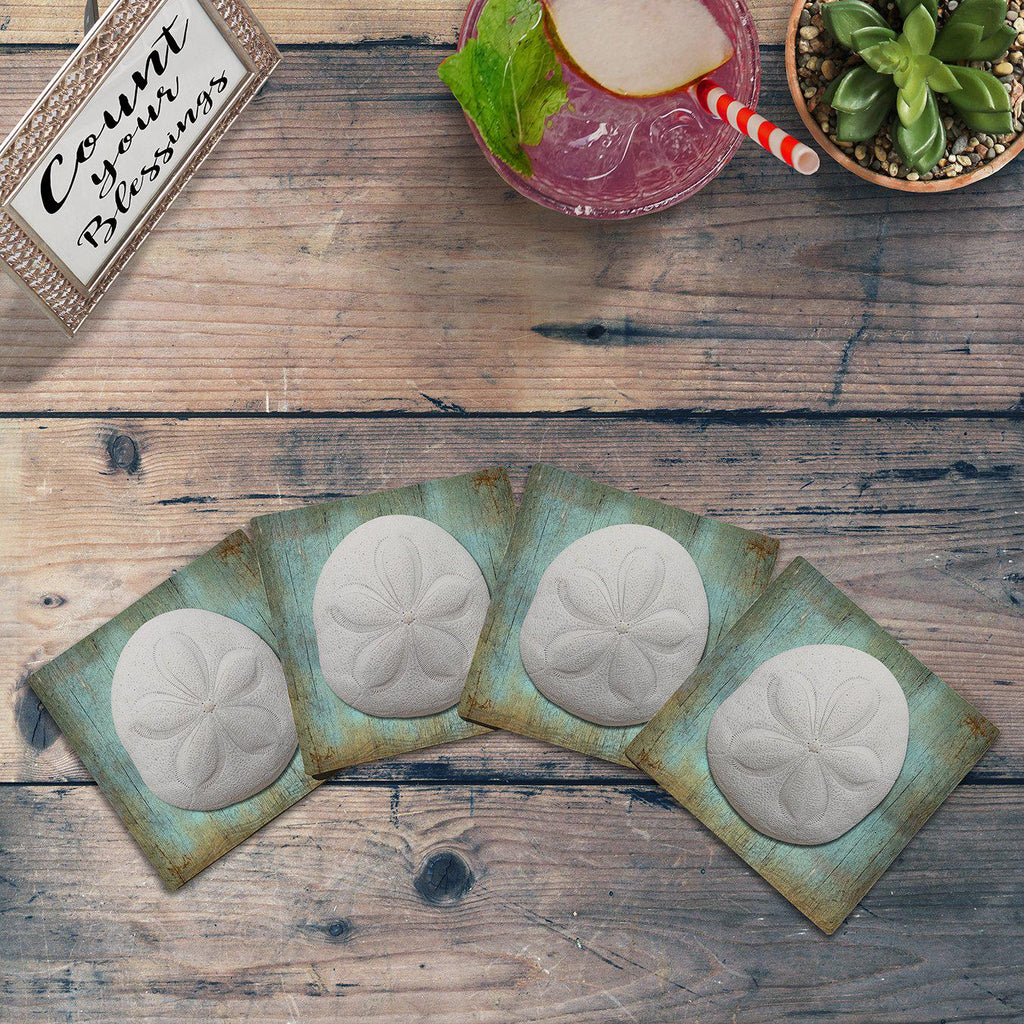 Sea Biscuit | Drink Coaster Set