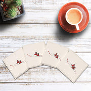 Classic Skis | Drink Coaster Set