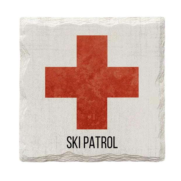 Ski Patrol | Drink Coaster Set