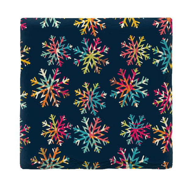 Colorful Snowflakes | Drink Coaster Set