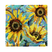 Sunflower Painting | Drink Coaster Set
