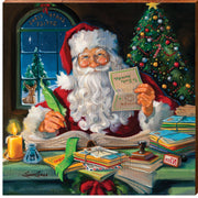 "Susan Comish ""Santa's Office""-Mill Wood Art"