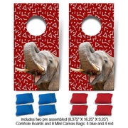 Crimson Elephant Fun Size Cornhole Set-Mill Wood Art