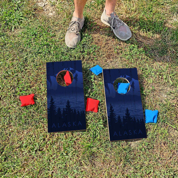 Alaska | Fun Size Mini Cornhole Game