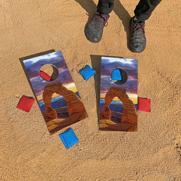 Delicate Arch, Arches National Park | Fun Size Mini Cornhole Game