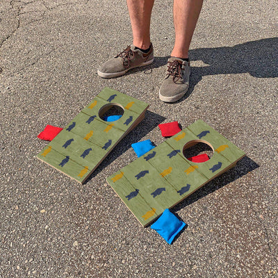 Bears Fun Size Cornhole Set