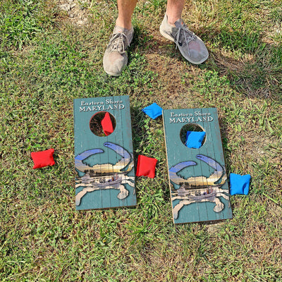 Eastern Shore, Maryland Fishing Crab | Fun Size Mini Cornhole Game