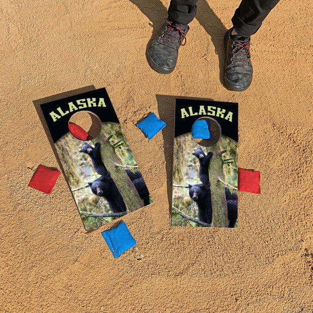 Alaska Bear Cubs | Fun Size Mini Cornhole Game