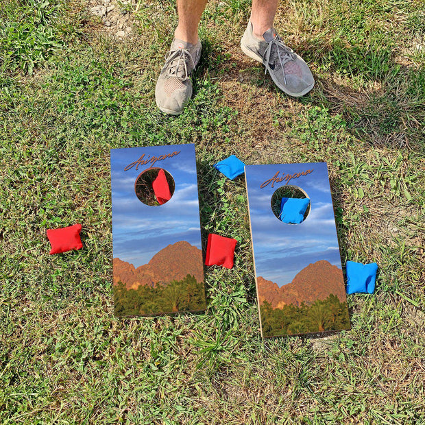 Arizona Desert | Fun Size Mini Cornhole Game
