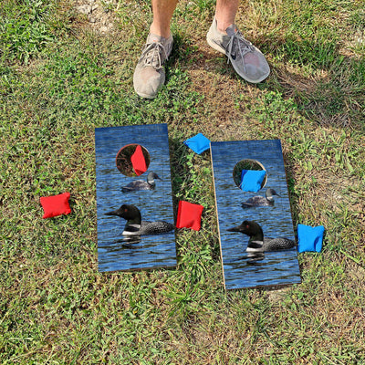 Swimming Loons | Fun Size Mini Cornhole Game