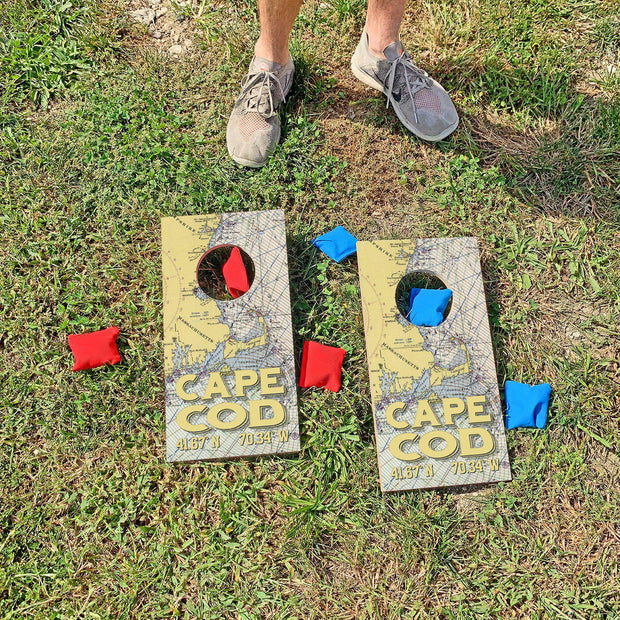 Cape Cod, Massachusetts Map | Fun Size Mini Cornhole Game