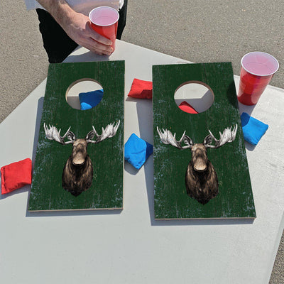 Rustic Moose | Fun Size Mini Cornhole Game