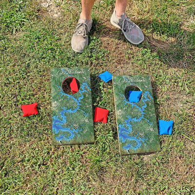 Lake Wedowee, Alabama Map | Fun Size Mini Cornhole Game