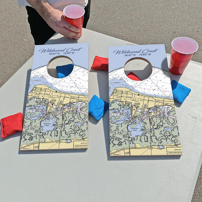 Wildwood Crest, New Jersey | Fun Size Mini Cornhole Game