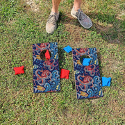Octopus Pattern Fun Size Cornhole Set