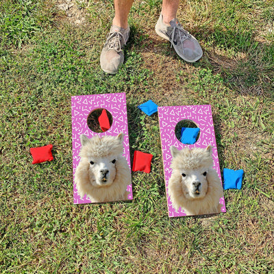 Alpaca Bag | Fun Size Mini Cornhole Game