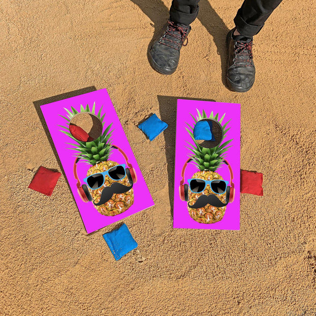 Cool Pineapple Fun Size Mini Cornhole Set