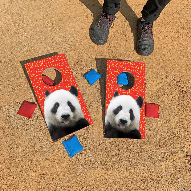 Pandas Are Better | Fun Size Mini Cornhole Game