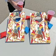 Parrot Pattern Fun Size Cornhole Set