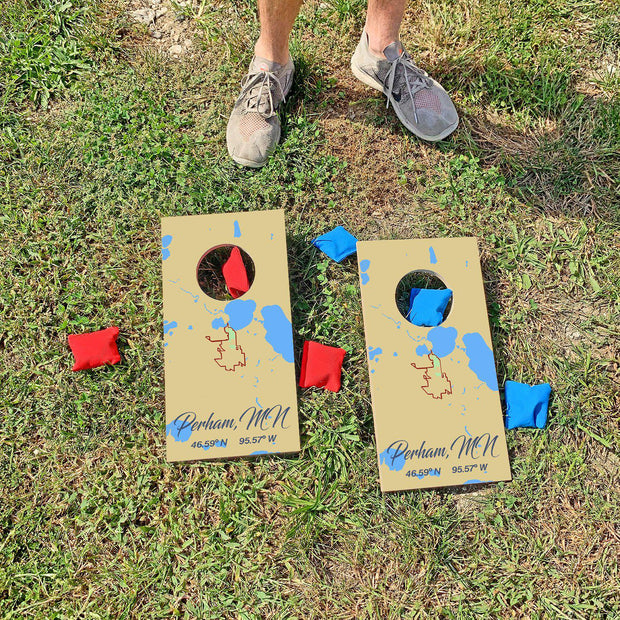 Perham, Minnesota Map | Fun Size Mini Cornhole Game