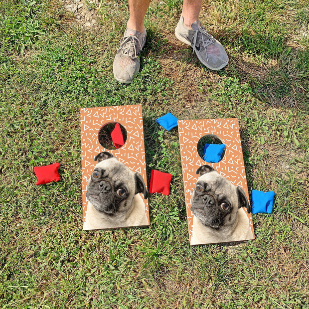 Pugs Are Better | Fun Size Mini Cornhole Game