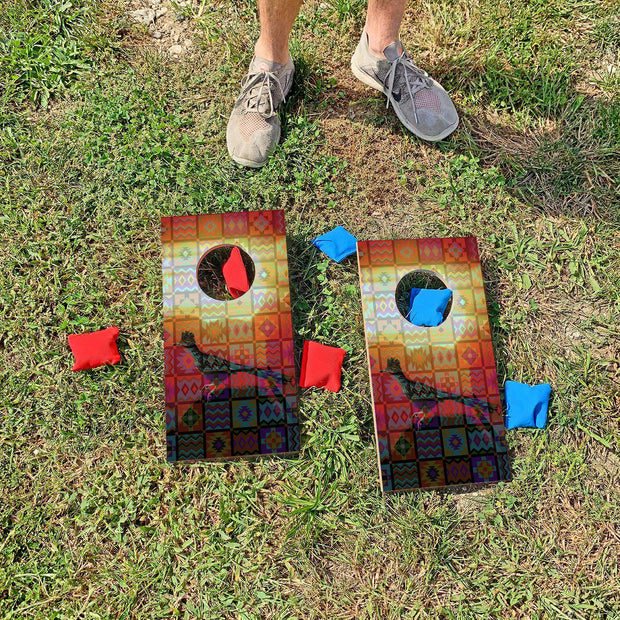 Southwest Roadrunner | Fun Size Mini Cornhole Game