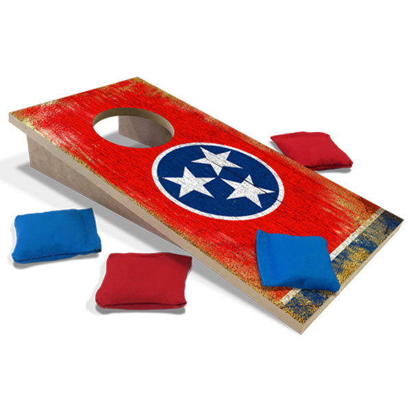 Tennessee Flag Fun Size Cornhole Set