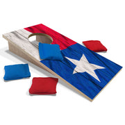 Texas Flag Fun Size Cornhole Set-Mill Wood Art