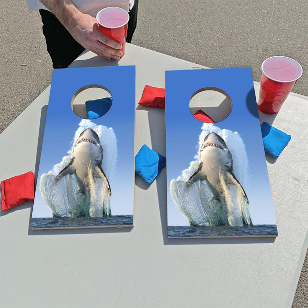 Shark Jump | Fun Size Mini Cornhole Game