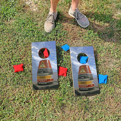 The Southernmost Point - Key West, Florida | Fun Size Mini Cornhole Game