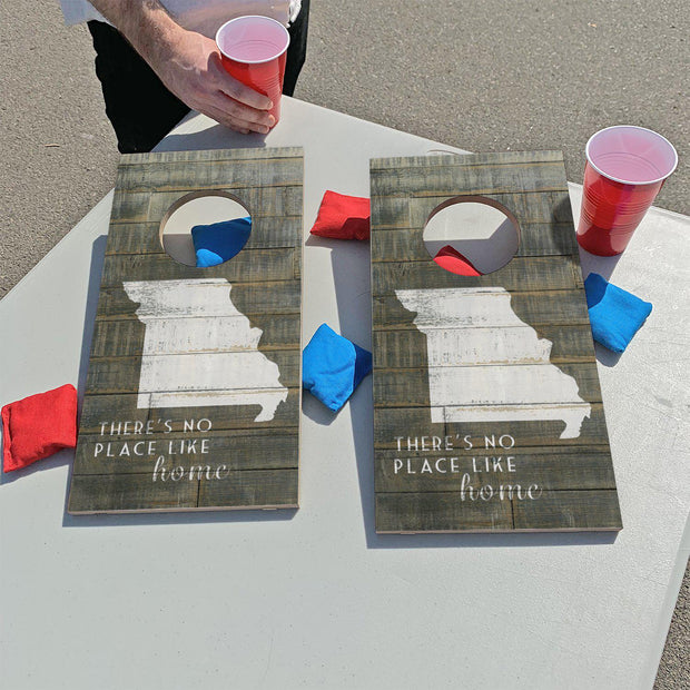 Missouri - There's No Place Like Home | Fun Size Mini Cornhole Game