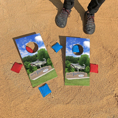 Catfish Days - Welcome to Trempealeau, Wisconsin | Fun Size Mini Cornhole Game