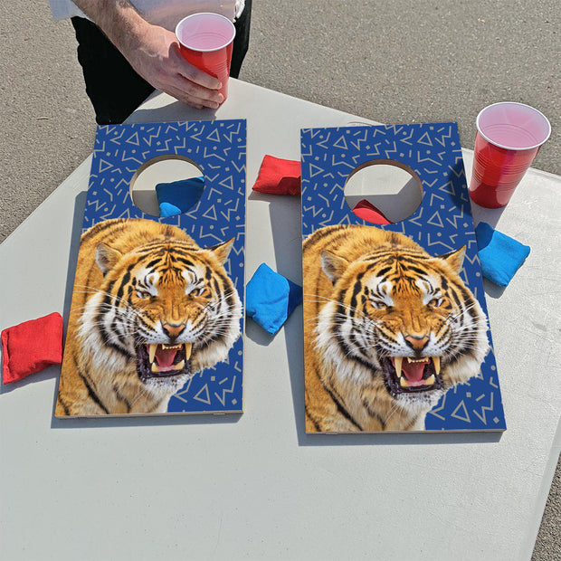 Blue Tiger | Fun Size Mini Cornhole Game