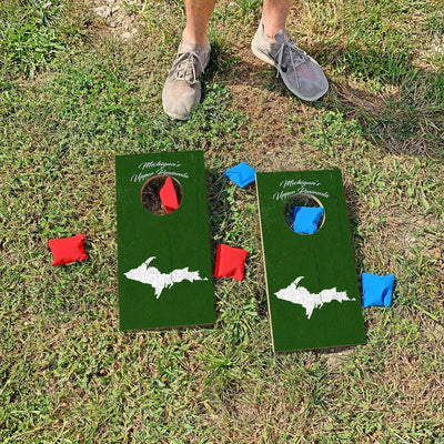 Michigans's Upper Peninsula | Fun Size Mini Cornhole Game