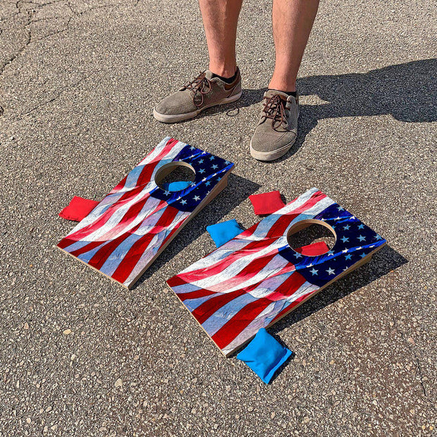 United States Flag | Fun Size Mini Cornhole Game