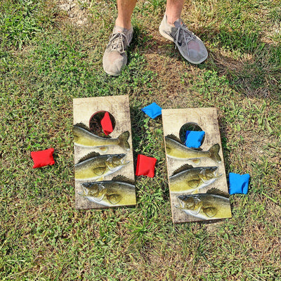 Walleyes | Fun Size Mini Cornhole Game