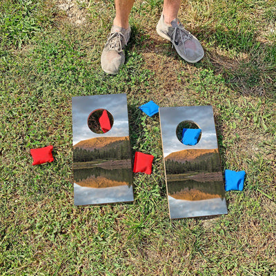 White Mountains - Pinetop, Arizona | Fun Size Mini Cornhole Game