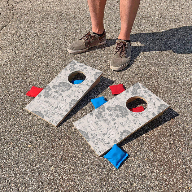 Wonderful Wildlife | Fun Size Mini Cornhole Game